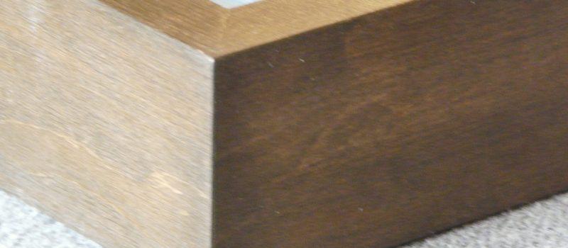 Objektrahmen - extra tiefe Bilderrahmen - Holz